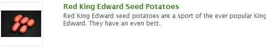 red king edward seed potatoes