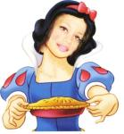 abi as Snow White....