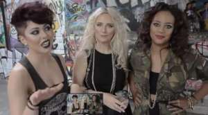 Kiss Off, leading UK Girl Band